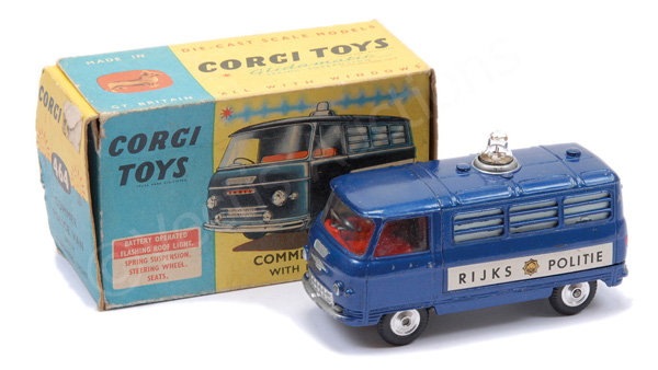 Corgi No.464 Commer Police Van - export issue