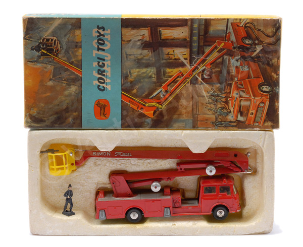 Corgi No.1127 Bedford Simon Snorkel Fire Engine