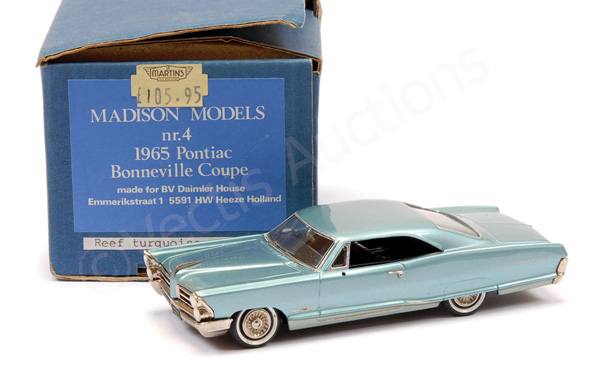 Madison Models No.4 Pontiac 1965 Bonneville