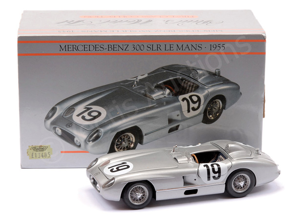 Pauls Model Art (1/24th scale) Mercedes 300SLR