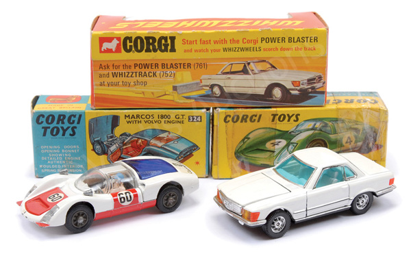 GRP inc Corgi No.330 Porsche Carrera 6 - white