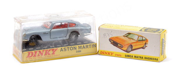 PAIR inc Dinky No.153 Aston Martin DB6 - light