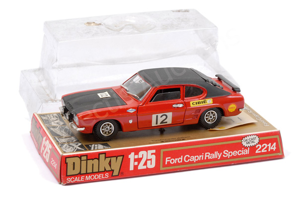 Dinky (1/25th scale) No.2214 Ford Capri Rally