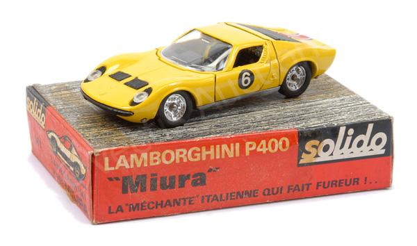 Solido No.161 Lamborghini P400 Miura - yellow