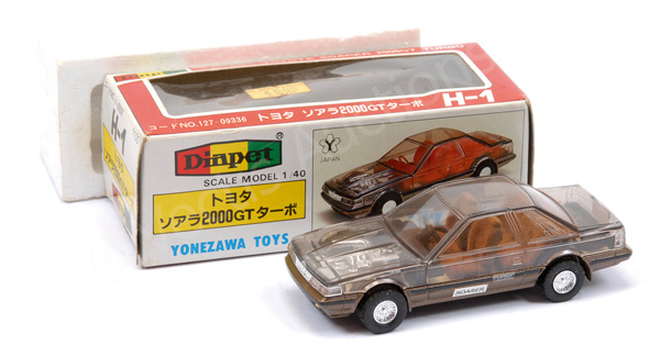 Diapet No.H1 Toyota Soarer 2000GT Turbo - clear