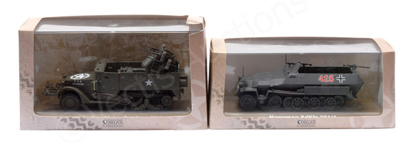 PAIR inc Atlas Editions Military related Half