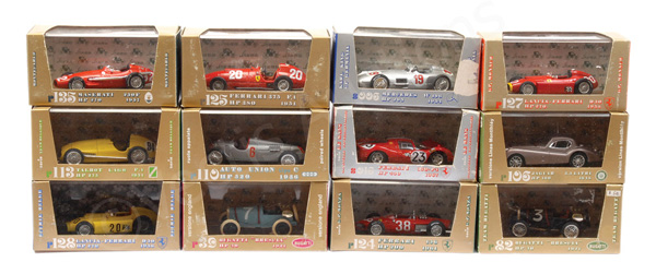 GRP inc Brumm Racing Cars No.R110 Auto Union