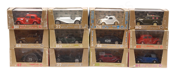 GRP inc Brumm Cars No.R65 Berlina; No.R77 Alfa