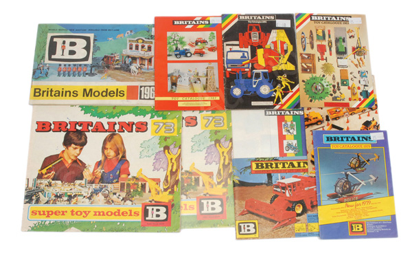 GRP inc Britains Colour Catalogues 2 x 1973