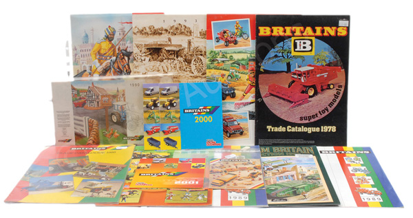 GRP inc Britains Catalogues mainly 1980's/1990'
