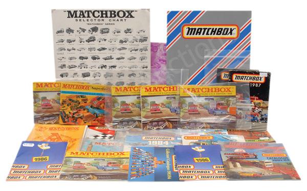 GRP inc Matchbox Catalogues and Ephemera 1969 UK
