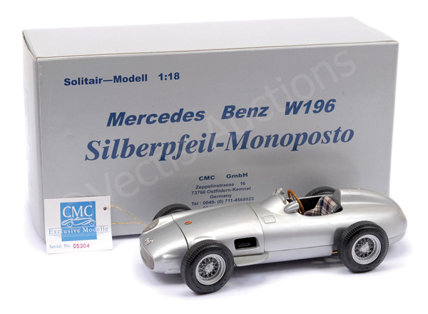 CMC (1/18th scale) Mercedes W196 Racing Car