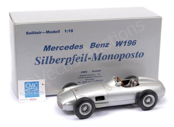 CMC (1/18th scale) Mercedes W196 Racing Car