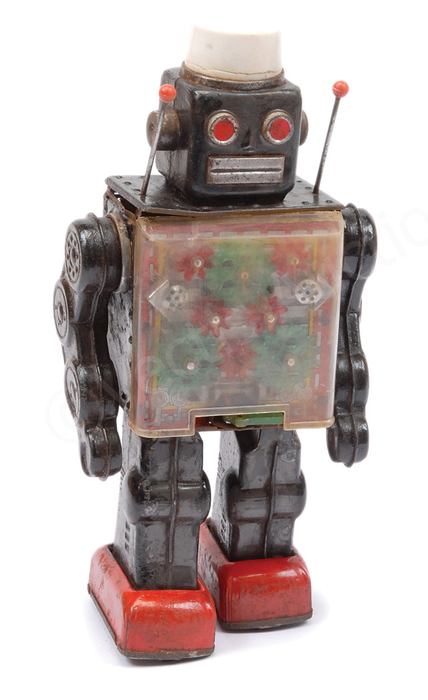 Tinplate (Japanese made) battery operated Robot