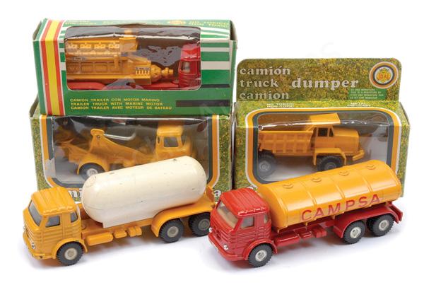 GRP inc Joal No.207 Compressor Truck; No.200