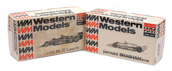 PAIR inc Western Models (1/24th scale) Kit empty
