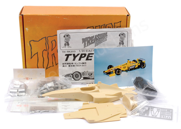 Treasure Hunt (1/20th scale) Formula Racing Car