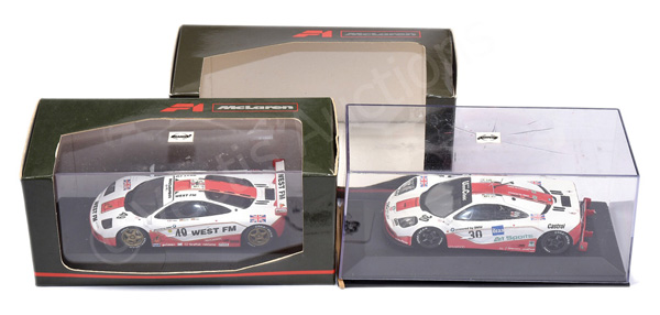 PAIR inc Minichamps McLaren F1 GTR Models
