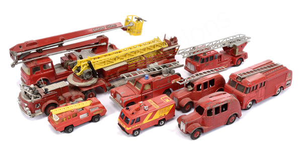 GRP inc Dinky/Corgi/Matchbox unboxed Fire
