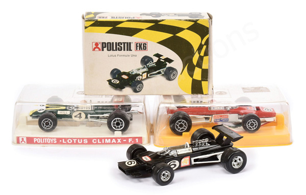 GRP inc Polistil No.FK6 Lotus Racing Car - black