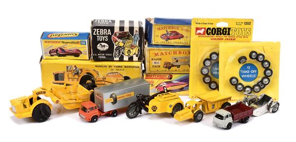 GRP inc Budgie Toys No.282 Euclid Yard Scraper