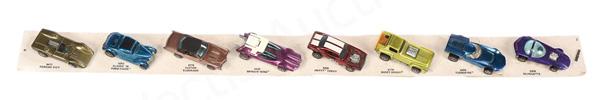 Hot Wheels (Mattel) - Redline - shop display