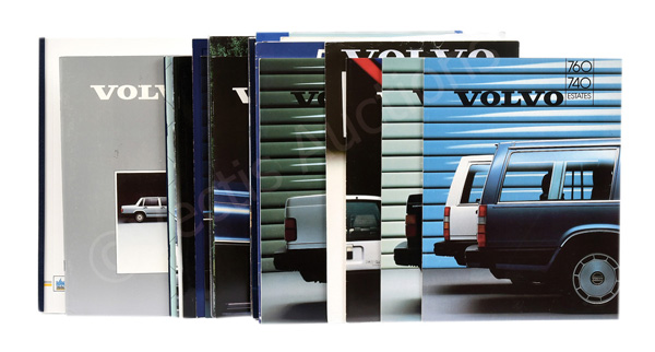 GRP inc Volvo Original Brochures and Ephemera