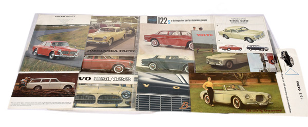 QTY inc Volvo Original Sales Brochures