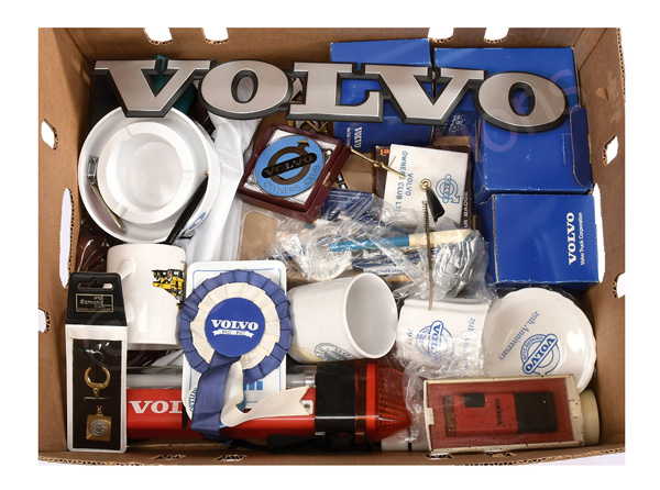 QTY inc Volvo related promotional items