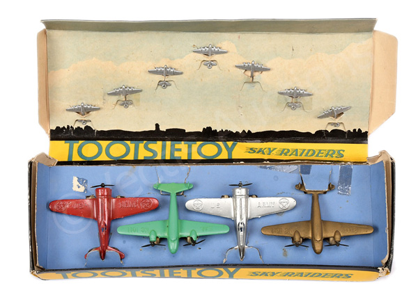 Tootsietoy (Sky Raiders) set comprises