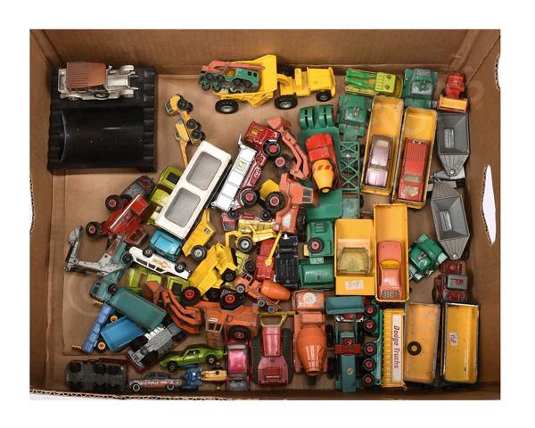 GRP inc Matchbox unboxed King Size Leyland