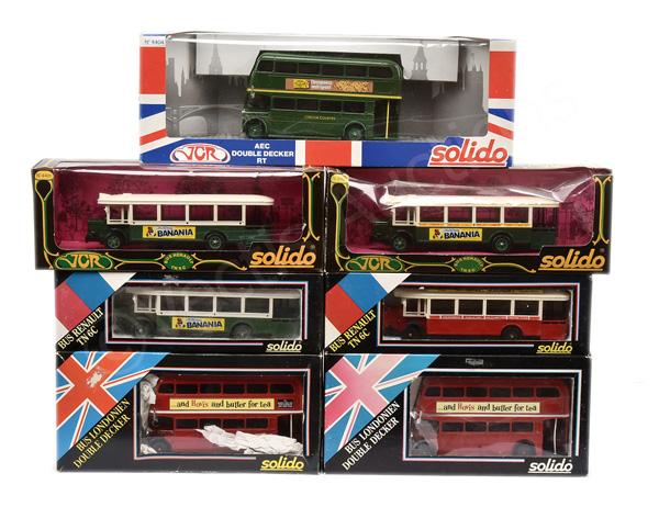 GRP inc Solido Buses No.4404 London Country