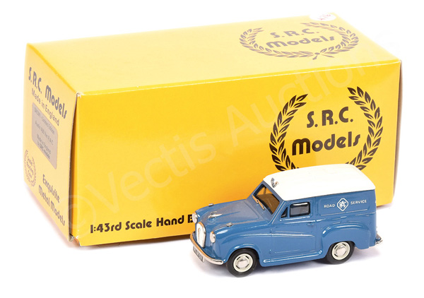 SRC Models Austin A35 Van in dark blue