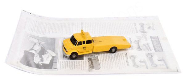 Somerville balsa model mock up Ford A Series