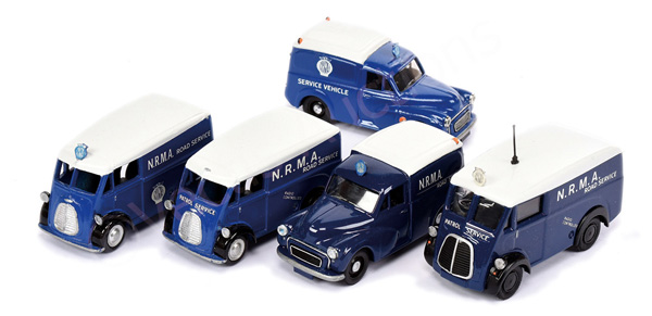 GRP inc unboxed Australian Road Service Vehicles