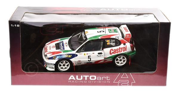 Autoart (1/18th scale) - Toyota Corolla WRC