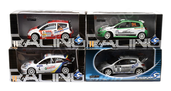 GRP inc Solido (1/18th scale) Rally Cars Renault