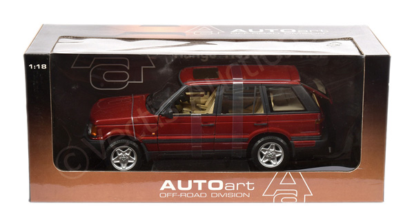 Autoart (1/18th scale) Range Rover HSE - red