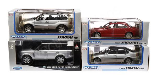 GRP inc Welly (1/18th scale) BMW 328i; BMW X5