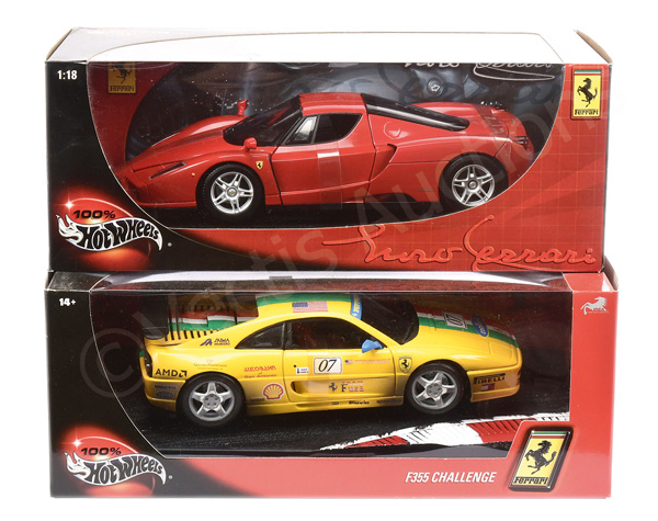 PAIR inc Hot Wheels (Mattel) - (1/18th scale)