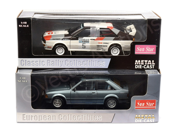 PAIR inc Sun Star (1/18th scale) Ford Escort GL