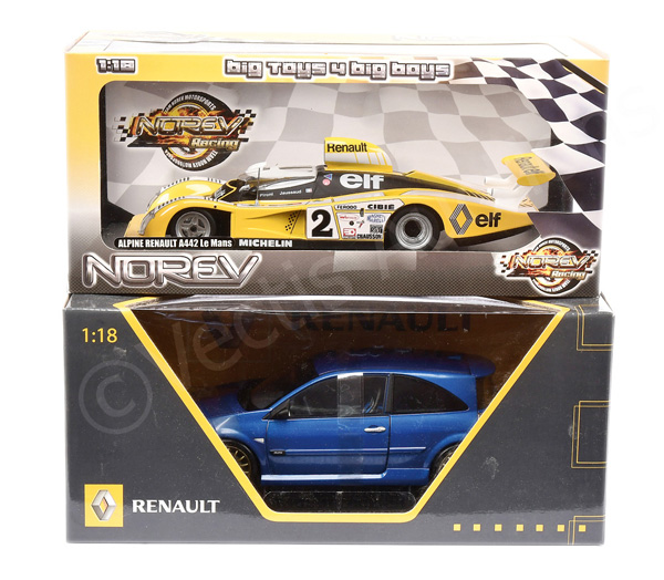 PAIR inc Norev (1/18th scale) Renault Megane