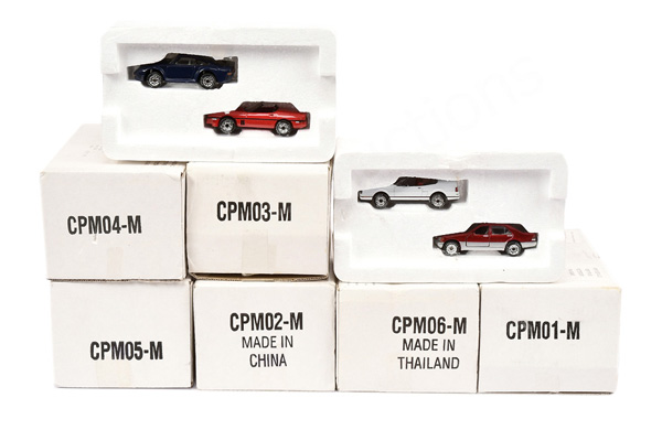 Matchbox Collectables No.CPM01-CPM06 - each box