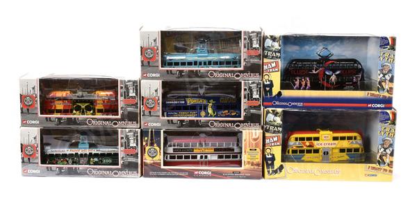 GRP inc Corgi Original Omnibus Blackpool Trams