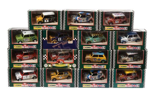 GRP inc Corgi Minis Rally Issues No.04433