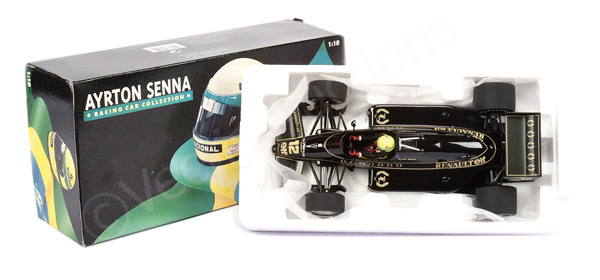 Minichamps (1/18th scale) - Ayrton Senna Racing