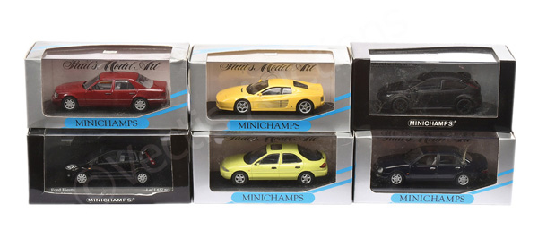 GRP inc Minichamps (1/443rd scale) Mercedes E