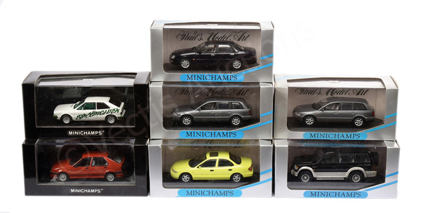GRP inc Minichamps (1/43rd scale) Ford Scorpio