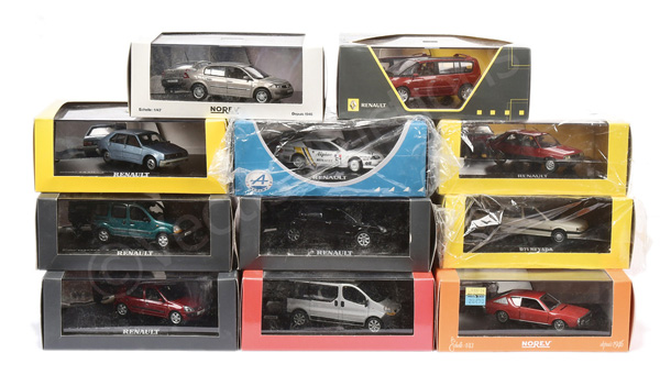 GRP inc Norev (1/43rd scale) Renault models