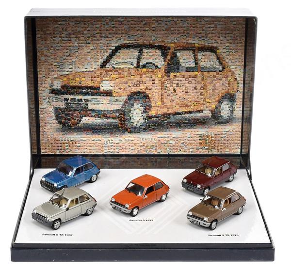 Norev Renault 5 - 5-piece gift set Alpine; GTL